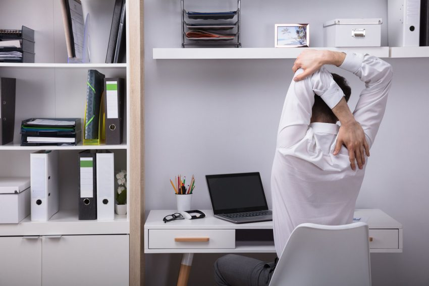 Arbeiten im Homeoffice: Dabei ist es wichtig, die Arbeitsbedingungen gesundheitsförderlich zu gestalten.