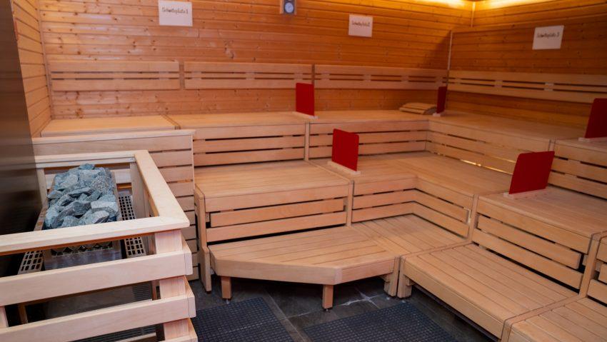 Finnische Sauna im Wananas.