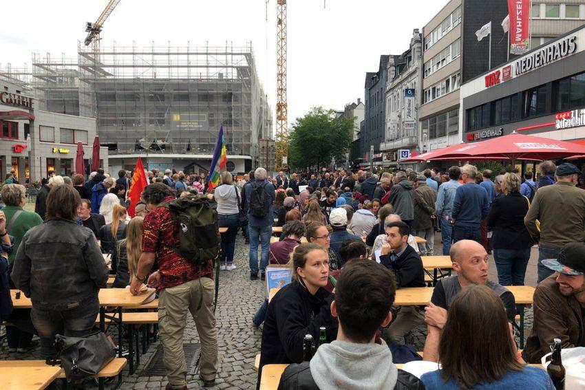 Herne nimmt sich Platz auf dem Robert-Brauner-Platz.