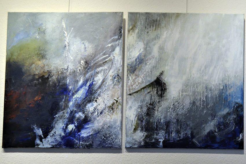 Eva Stotz: Winterreise (Ausschnitt).