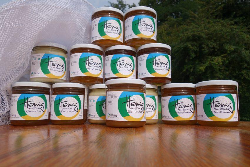 Honig aus Herne von fünf Imkern aus drei Ortsteilen.