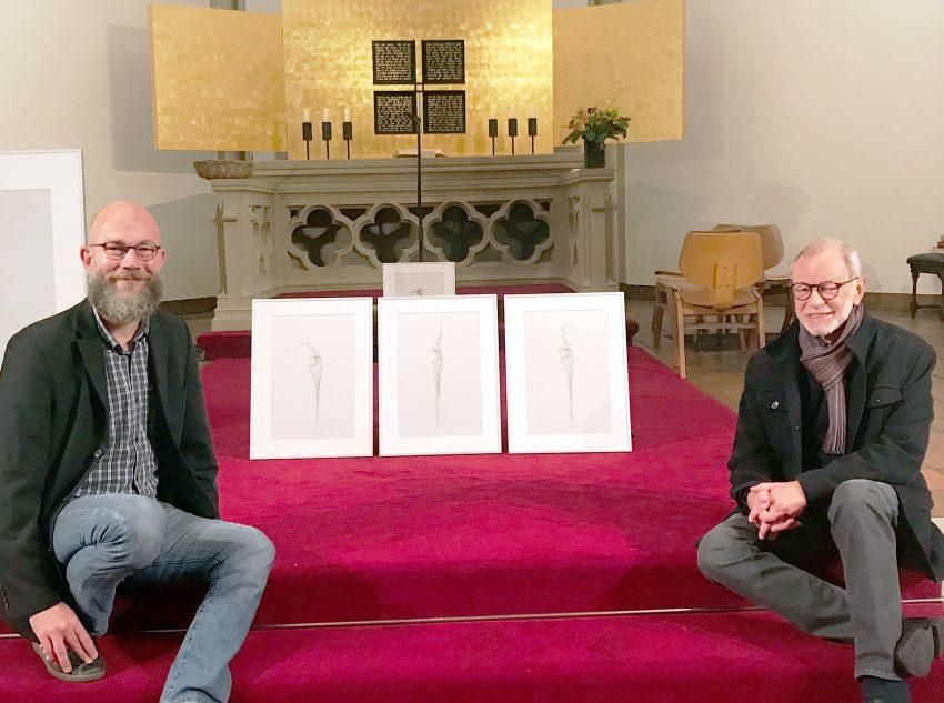 Daniel Kessen und Klaus-Jürgen Giesing.