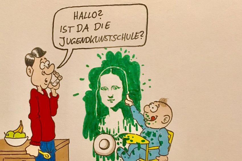 Karikatur von Torsten Kropp.