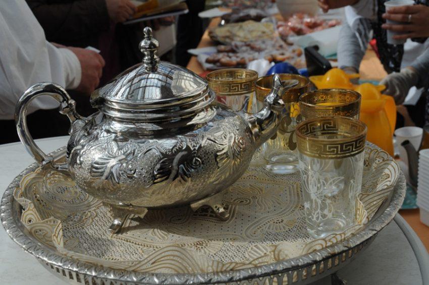 Türkische Teekanne.