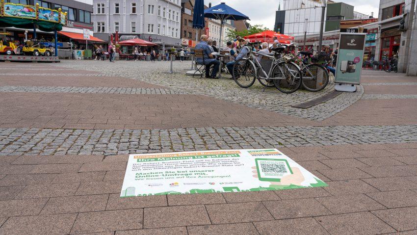 Der Robert-Brauner-Platz soll grüner werden.