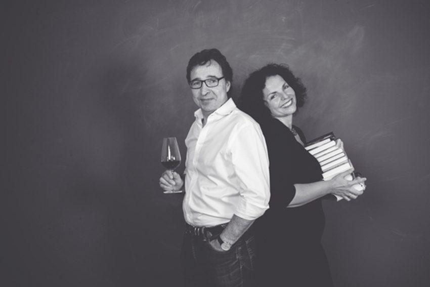 Lesung mit Nicole und Herbert Frenken.