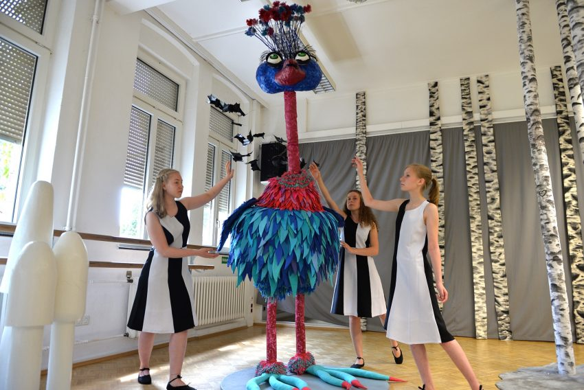 Jugendkunstschultag im Kunsthaus Crange.