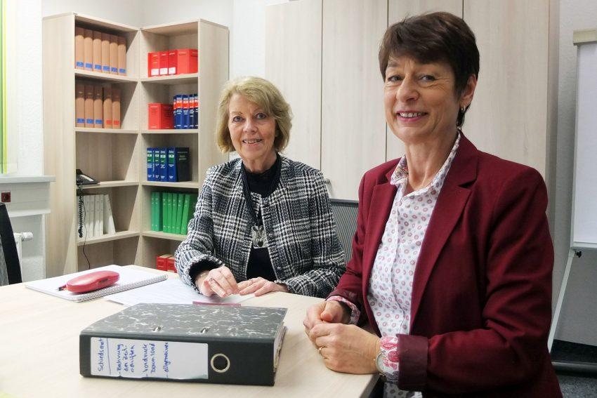 Monika Ganteföhr (l.) und Petra Kübber-Rösmann.