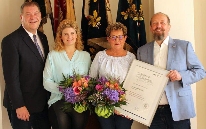 v.l. Martin Klinger, Desiree Wenzel, Renate Warren, Jörg Böhlke.