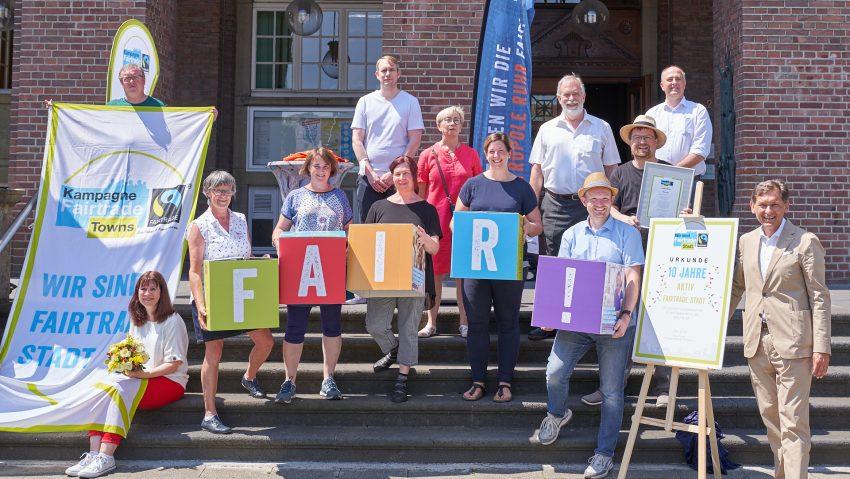 Herne ist 2021 wieder Fair Trade Town.