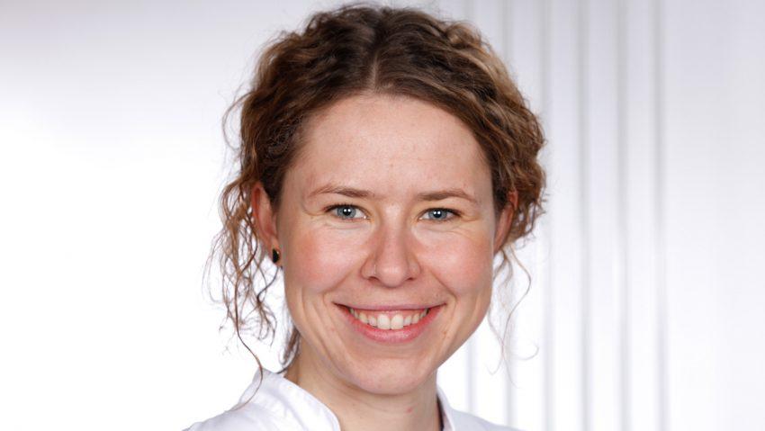 Dr. Alina Reicherz, Assistenzärztin der Klinik für Urologie des Marien Hospital Herne.