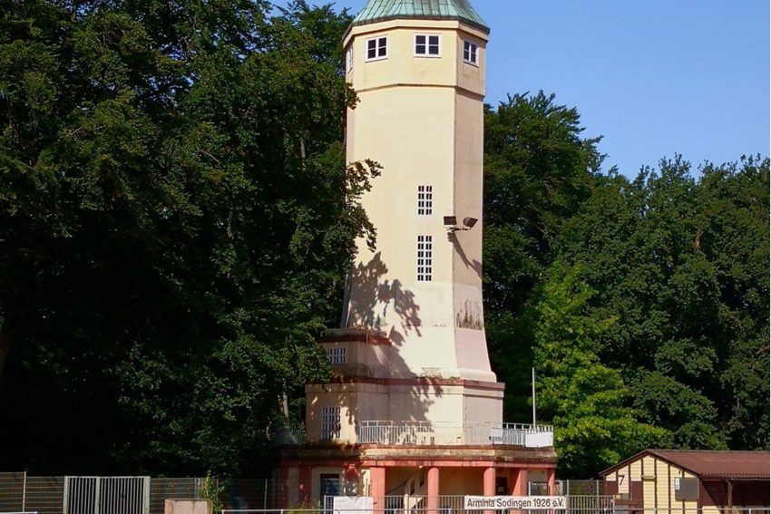 Kaiser-Wilhelm-Turm im Volkspark, Sodingen.