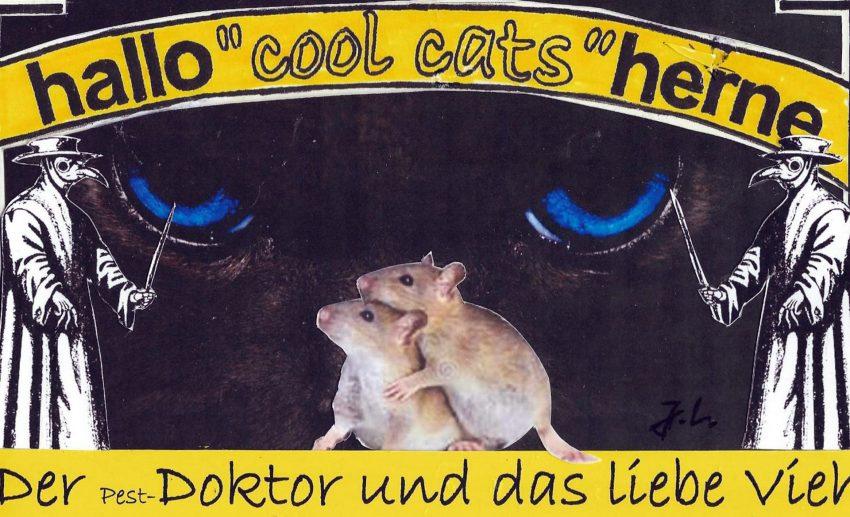 cool cats gehen zur Pest! Ausstellung.