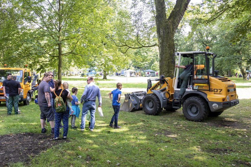 Der Gartentag im Stadtgarten in Herne (NW), am Samstag (15.06.2019).