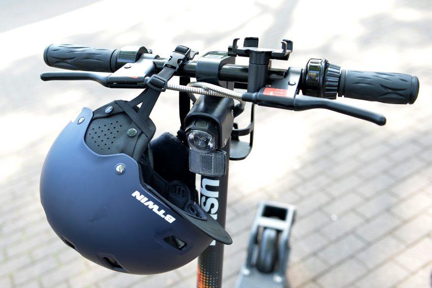 Die ersten Tretroller dürfen auf Herner Radwegen und Straßen rollen - Start war am 5. Juni 2019.