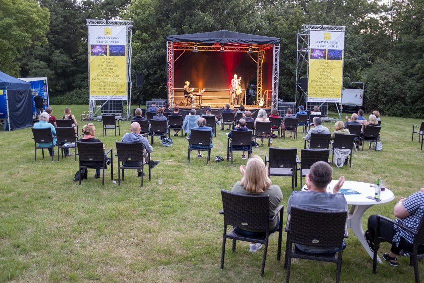 NachtSchnittchen beim Sommer Open-Air im Südpool an der Bergrstraße in Herne (NW), am Samstag (18.07.2020).