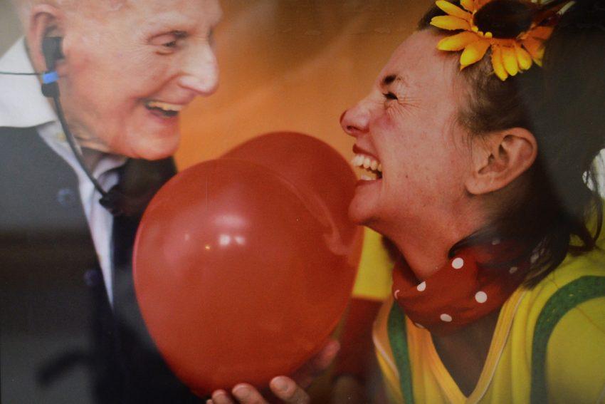 Projekt: Clowns-Besuche im Altenheim.