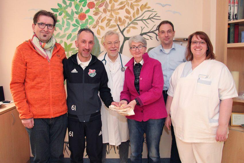 Benefiz-Turnier brachte 1.700 Euro für Aktiv für Palliativ.