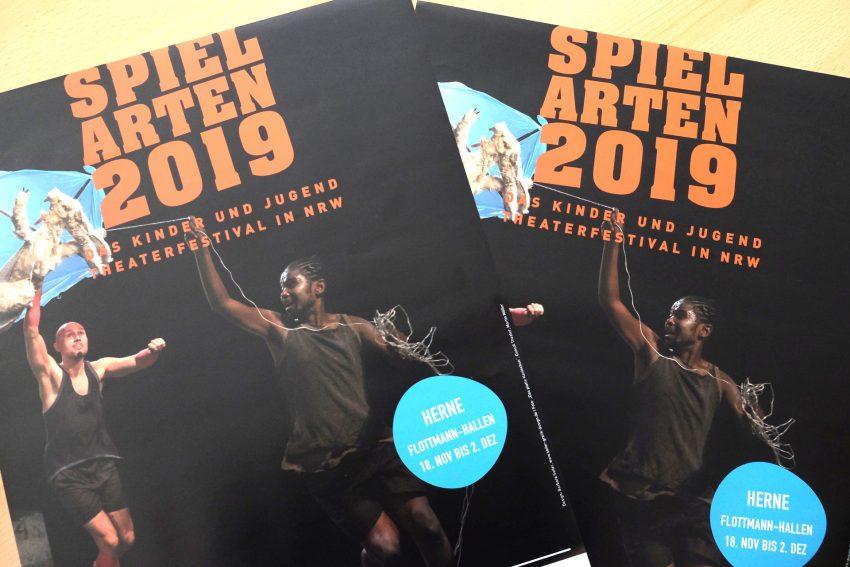 Spielartenfestival - das Kinder- und Jugend-Tanztheaterfestival - auch in Herne.