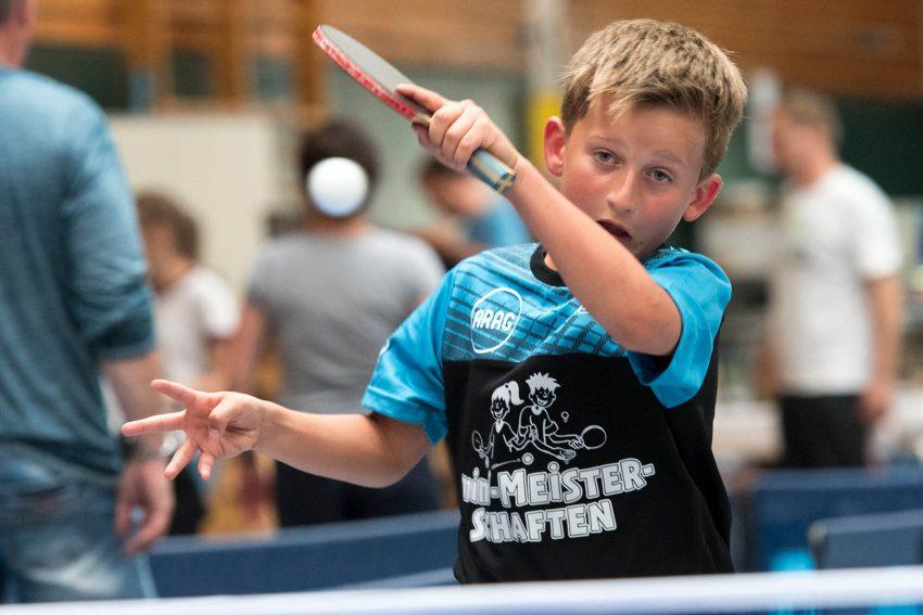 Mini-Tischtennis-Meisterschaften bei Westfalia Herne.