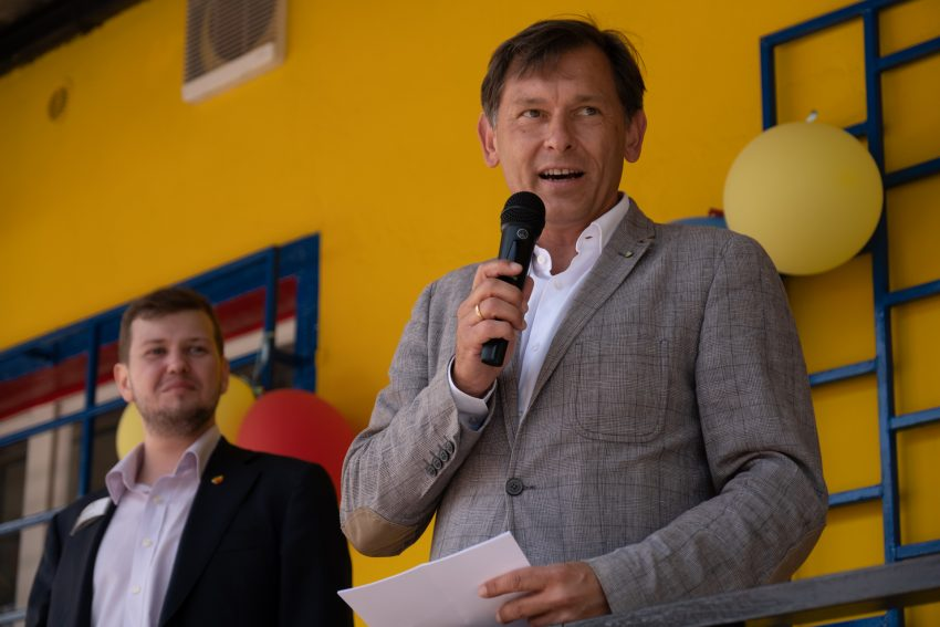 v.l. Tobias Weichert, Frank Dudda.