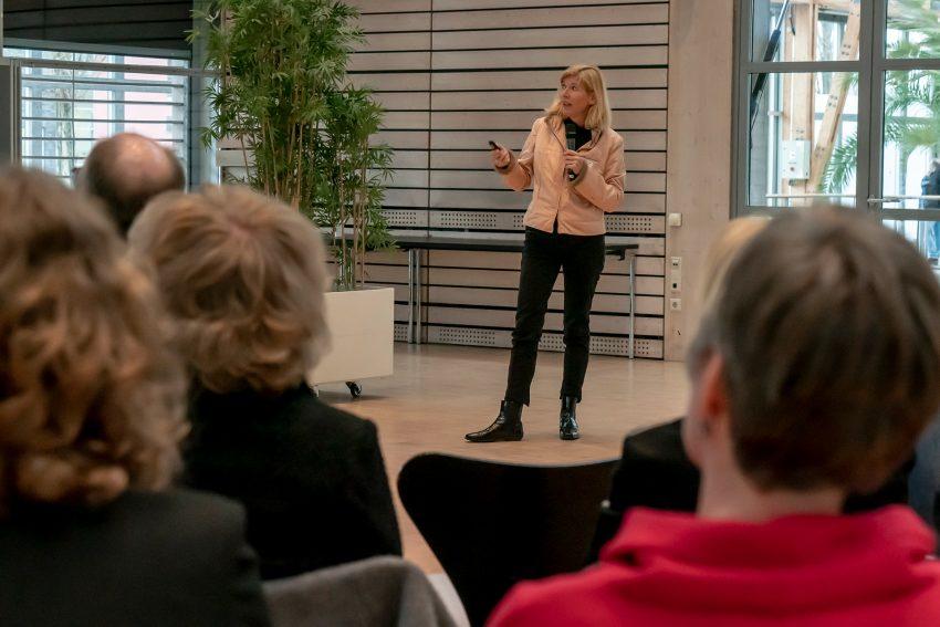Dr. med. Kerstin Fritz erklärte die Situation niedergelassener Ärzte..