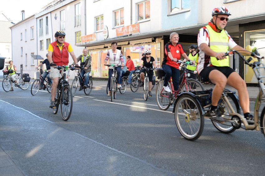 Sponsoren-Radtour des ALZ.