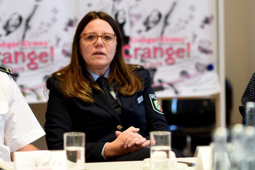 Nicole Pletha, Leiterin der Polizeiinspektion Herne