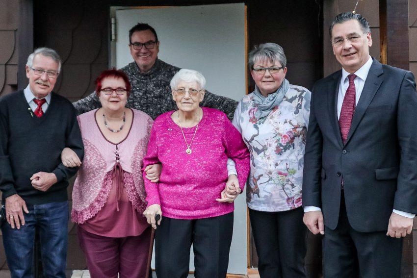 SPD OV-Eickel ehrt Jubilare.