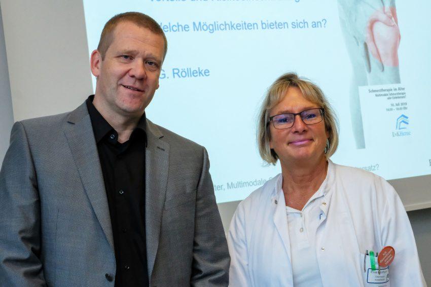 Dr. Guido Rölleke und Eva Hoffmann.