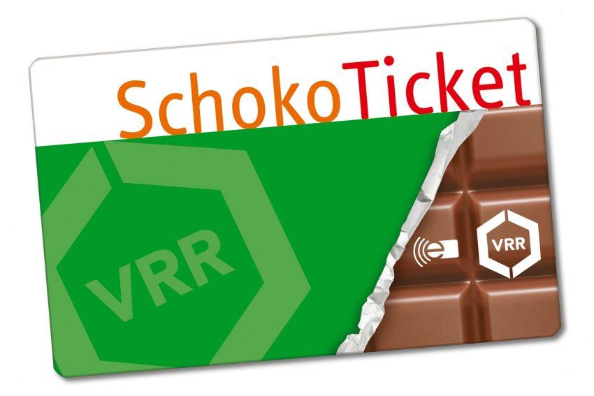 Schoko-Ticket.
