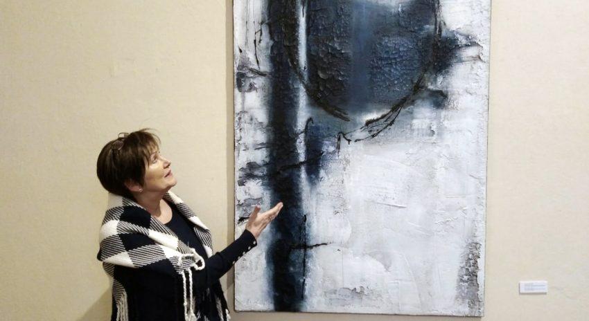 Edelgard Sprengel zeigt ihr Werk.