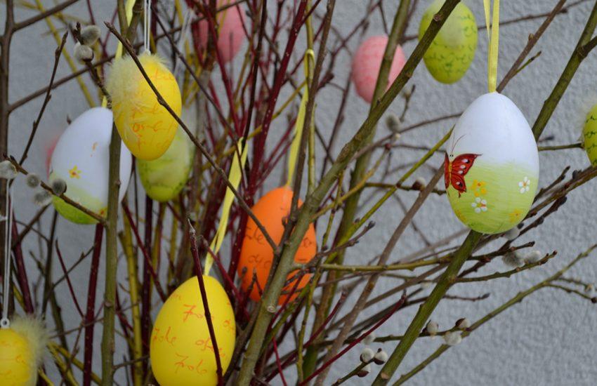 Bunte Eier gehören für viele Menschen zu Ostern dazu.