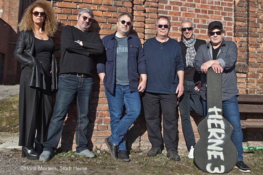 Die Rockband Herne3 startet am 4. Mai 2019 in den Flottmannhallen durch.