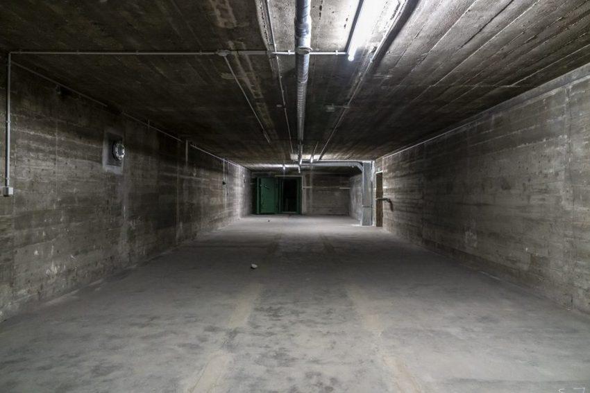 Innenraum im Hochbunker Sodingen an der Mont-Cenis-Straße in Herne (NW), am Mittwoch (03.04.2019).