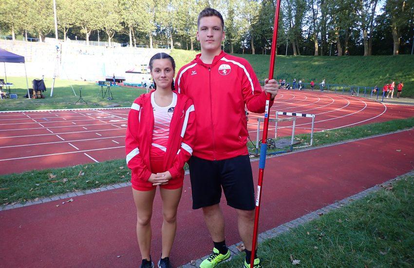 Ava Lukosch und Nicklas Droege.