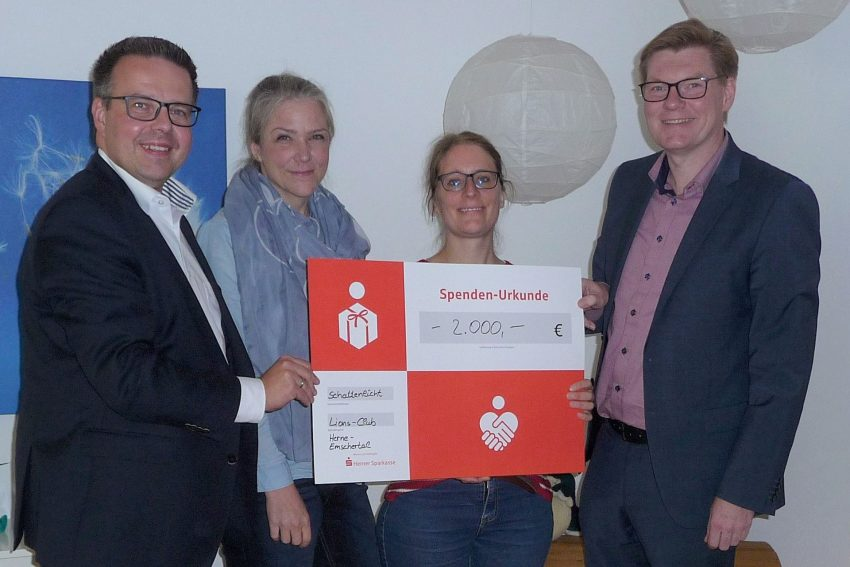 v.l. Dirk Plötzke, Susanne Wormuth, Annelie Gogolla, Dirk Rogalla.