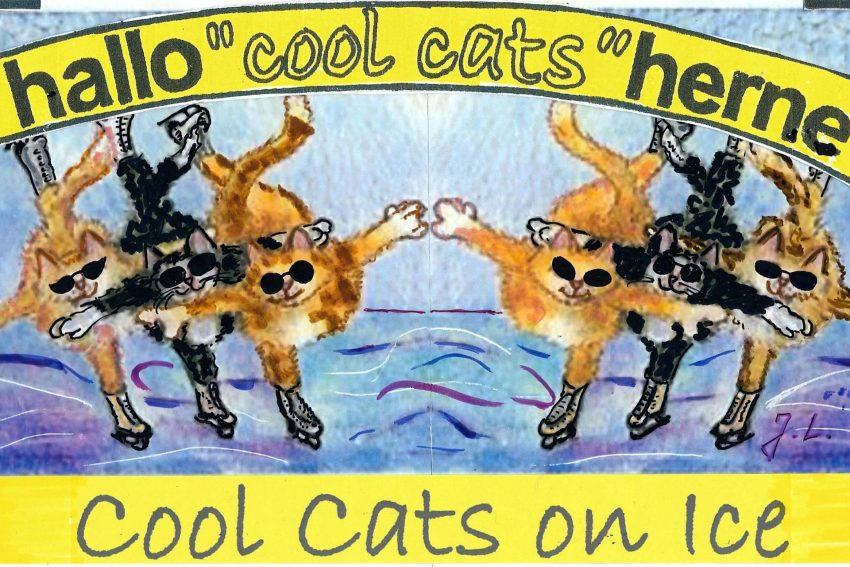 Die coolcats on ice.