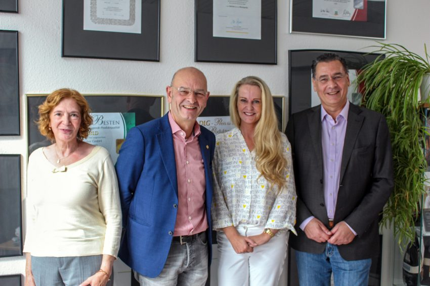 v.l. Manuela Lukas, Karl und Marlies Brinker, Udo Sobieski.
