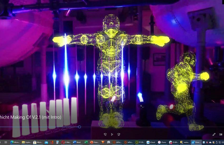 Video der Lichtkunst.