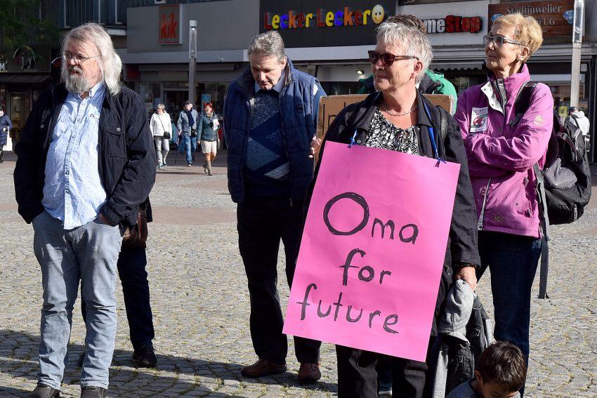 Oma und Opa for Future.