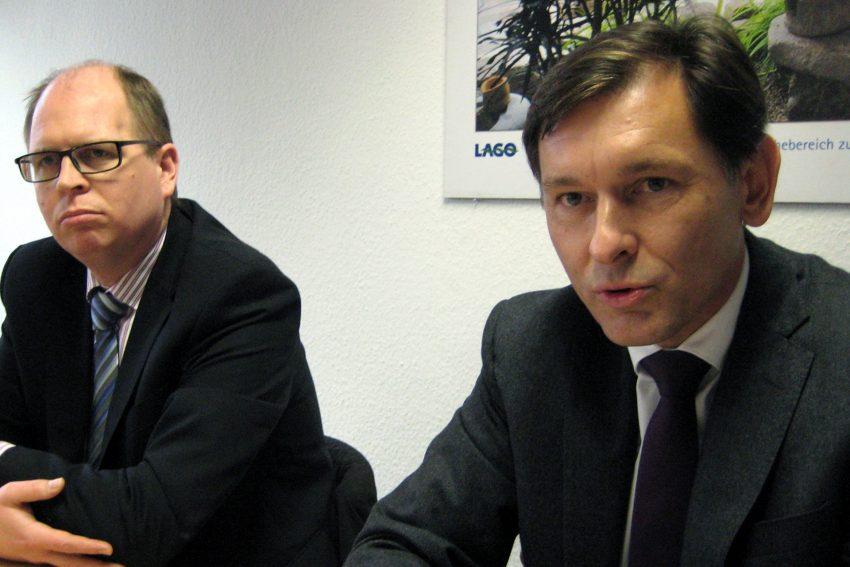 v.l. Johannes Chudziak, Dr. Frank Dudda.