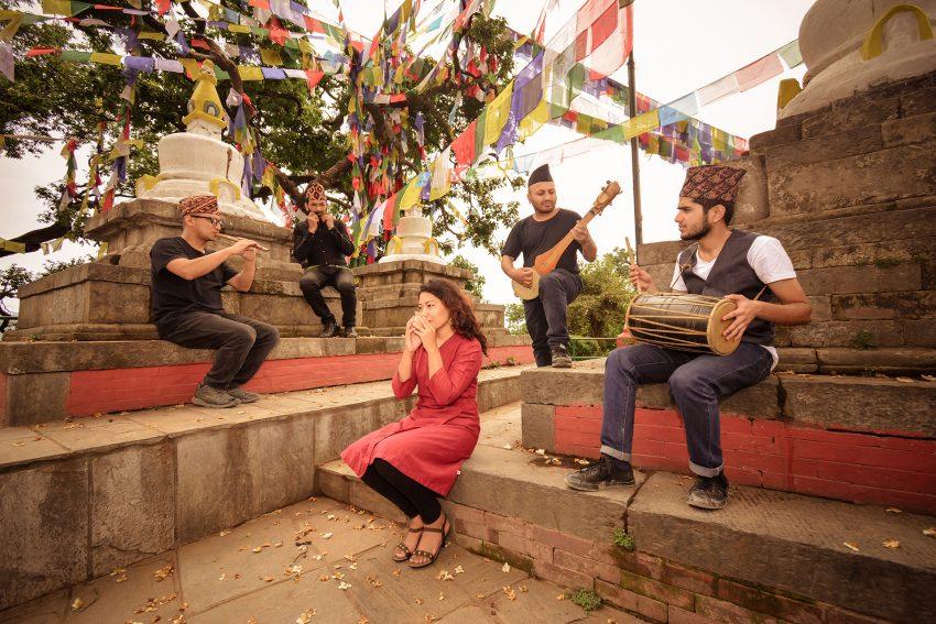 Klangkosmos Konzert mit der Gruppe Night (Nepal).