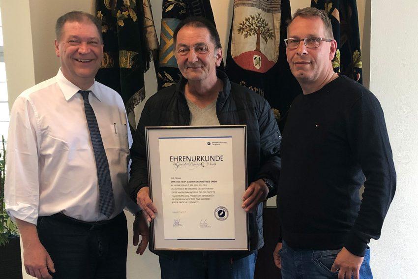 v.l. Martin Klinger, Uwe van Heek, Heiko Reimertshofer.