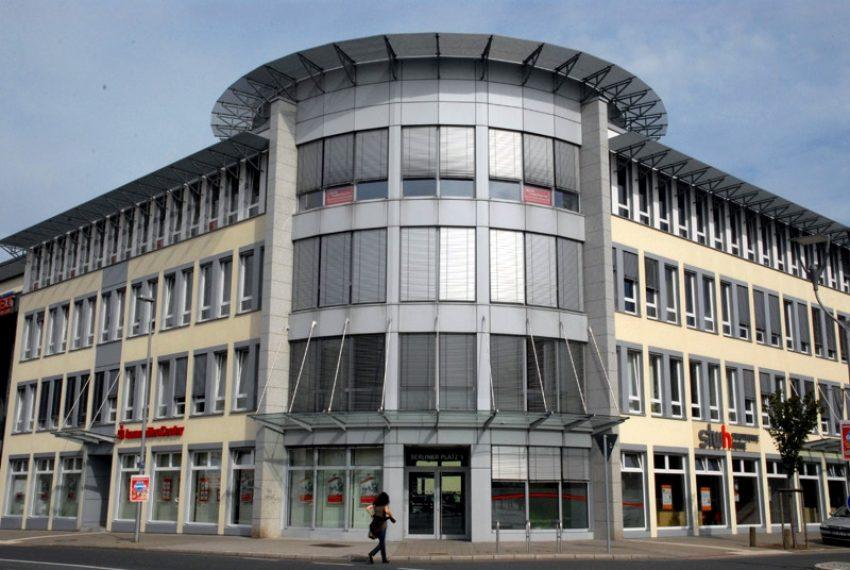Stadtwerke-Gebäude in der Herner Innenstadt.