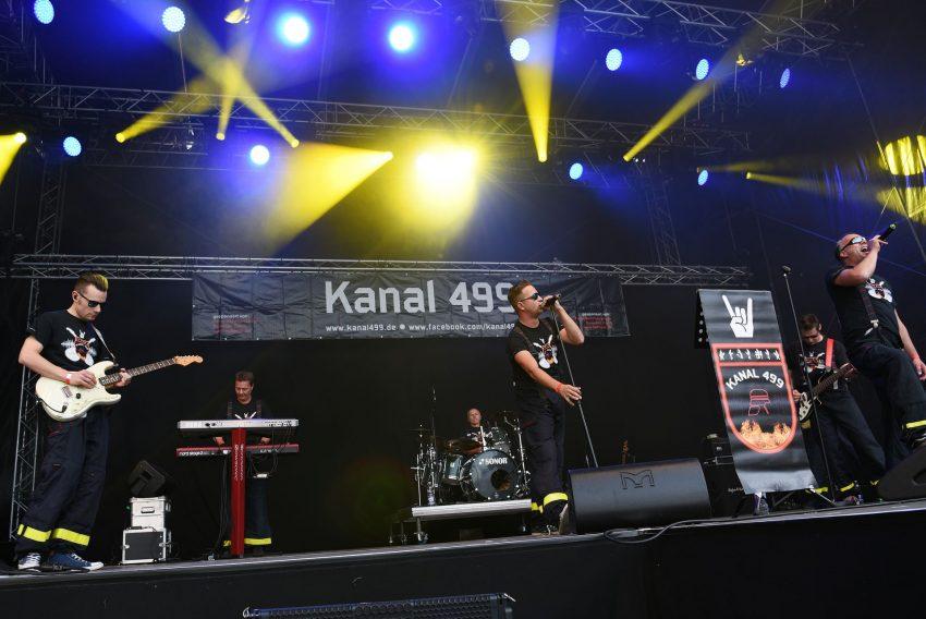 Kanal 499 Live beim Herner Open Air