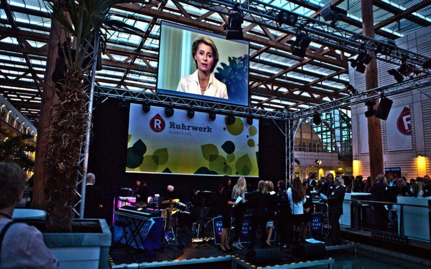 Video-Botschaft von Ursula von der Leyen.