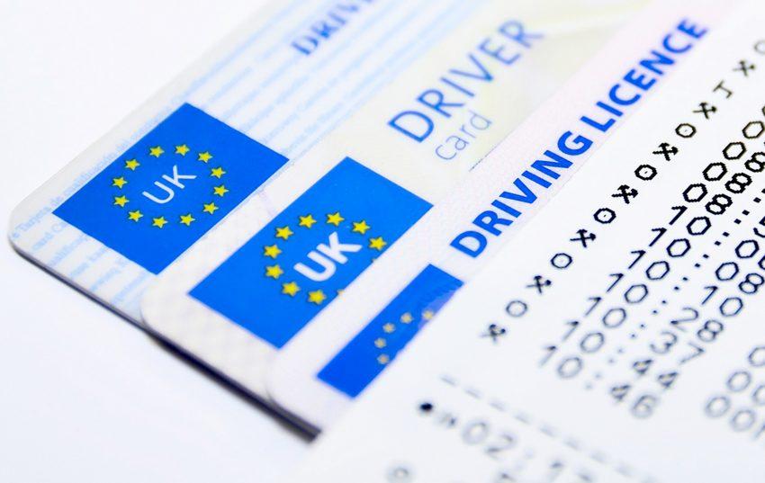 Ein wichtiges Dokument: der Führerschein.