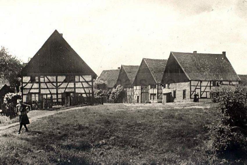 Dorf Crange um 1929.