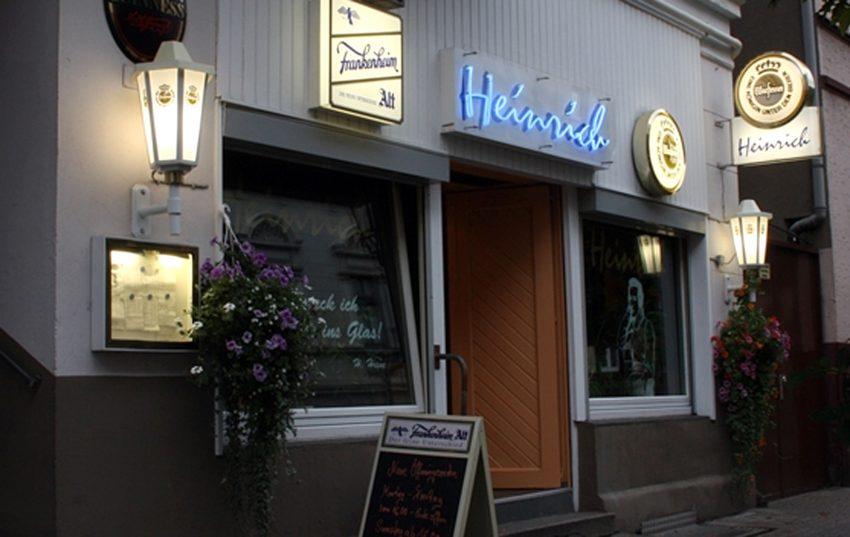 Kirmes-Bergfest im Heinrich.